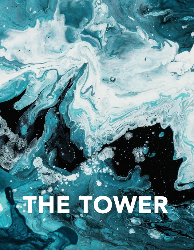 "Cover photo of the 2019 edition of ""The Tower"""